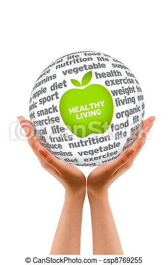 Healthy Lifestyle Sphere - csp8769255