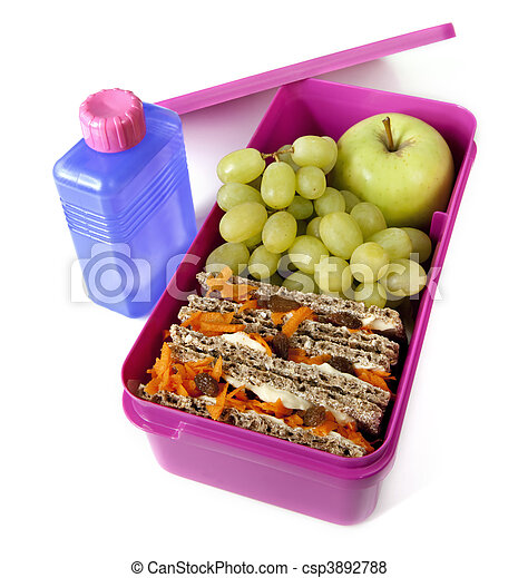 Healthy Lunch Box - csp3892788