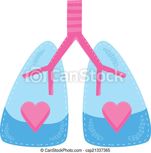a concept for healthy lungs and respiratory system clip art vector rh canstockphoto com lungs clipart gif lungs clipart black and white