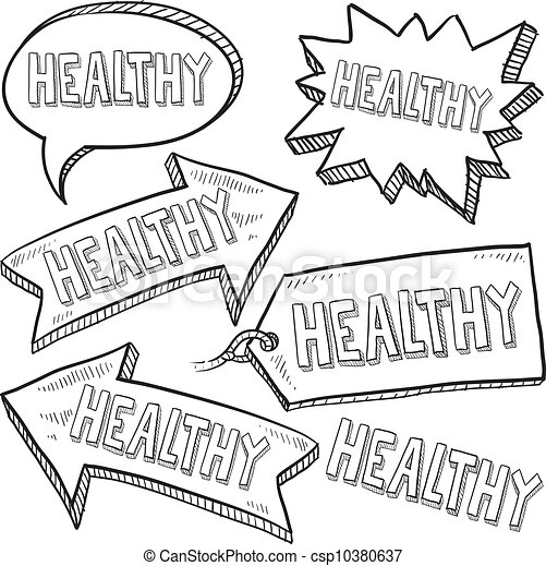 Healthy message tags - csp10380637