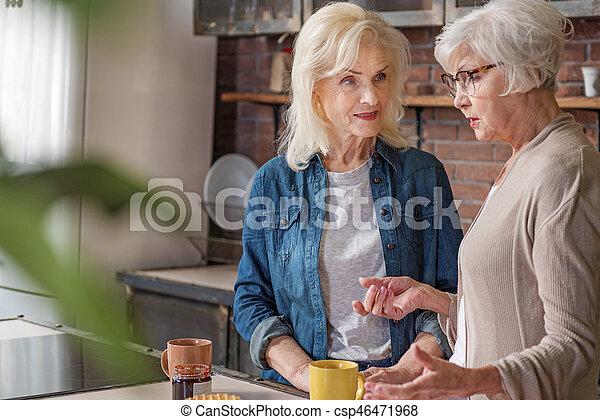 Talk to older women
