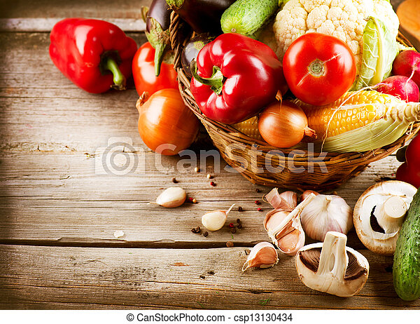 Healthy Organic Vegetables. Bio Food - csp13130434