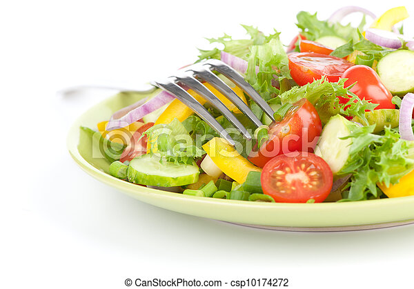 Healthy salad - csp10174272