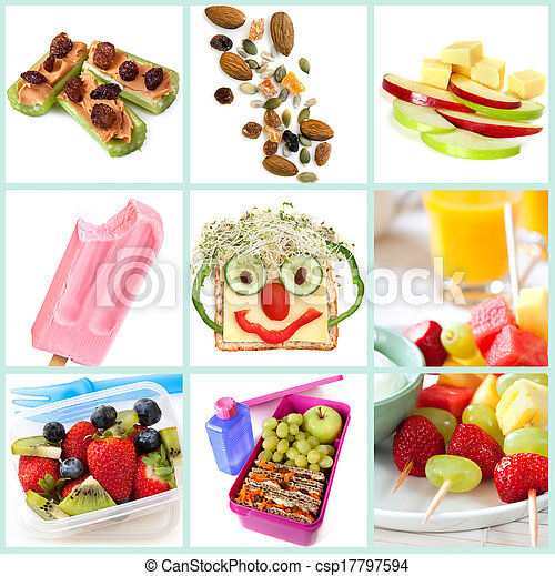 Healthy Snacking for Kids Collection - csp17797594