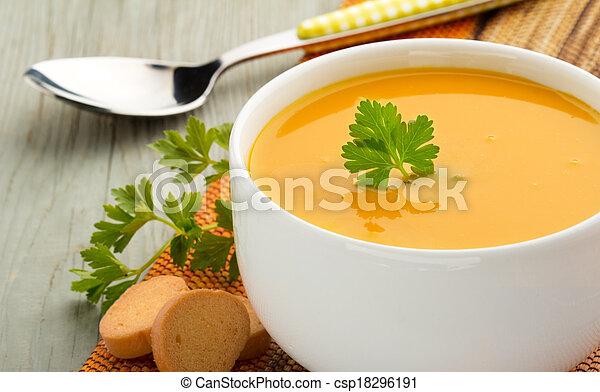 healthy soup - csp18296191