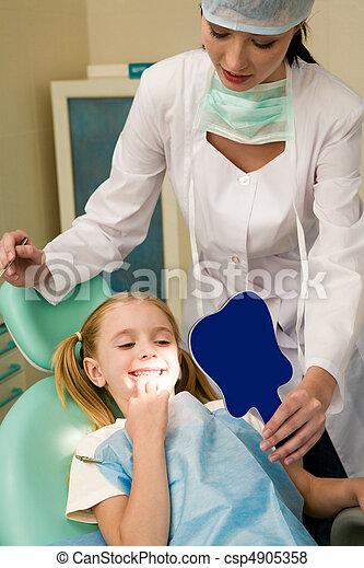 Healthy teeth - csp4905358