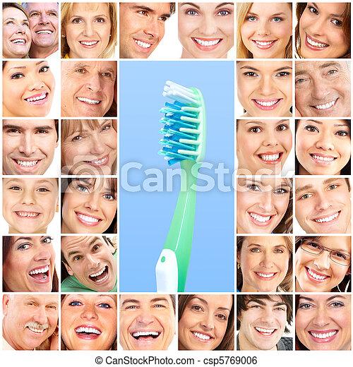 Healthy teeth - csp5769006