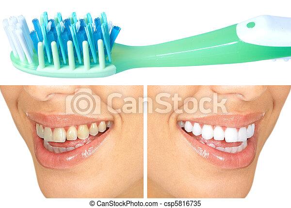 Healthy teeth - csp5816735
