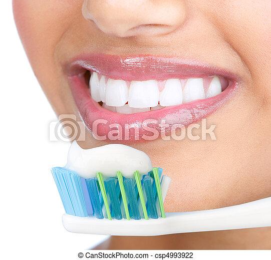 Healthy teeth - csp4993922