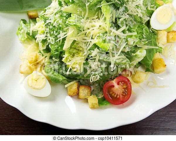 Healthy vegetable salad - csp10411571