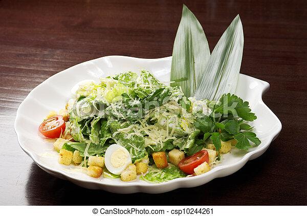 Healthy vegetable salad - csp10244261