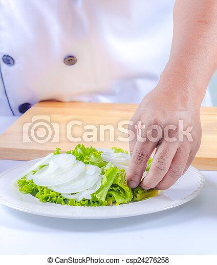 healthy vegetable salad - csp24276258