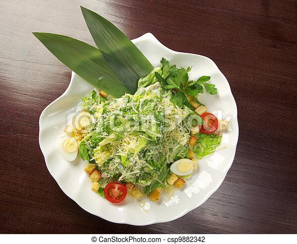 Healthy vegetable salad - csp9882342