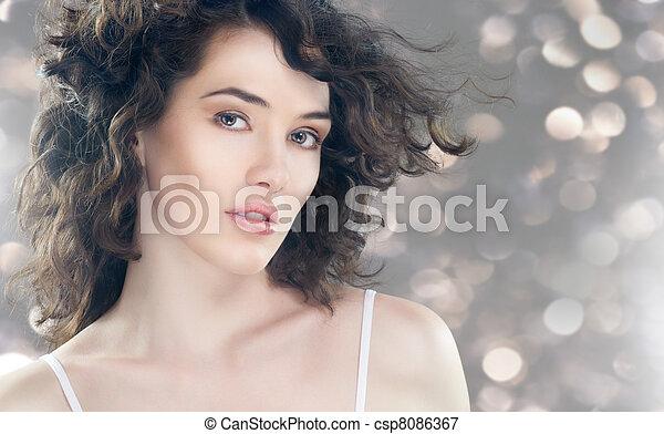 healthy woman - csp8086367