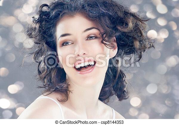 healthy woman - csp8144353