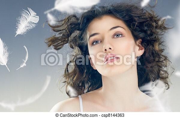 healthy woman - csp8144363