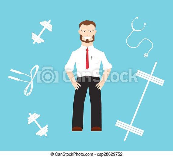 healthy worker - csp28629752