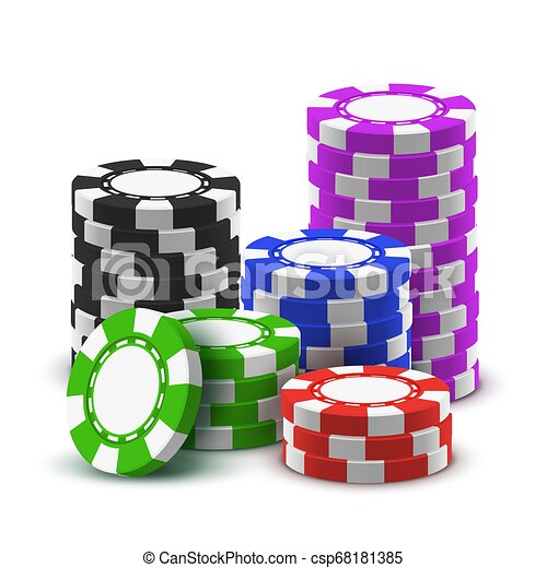 and casino chips