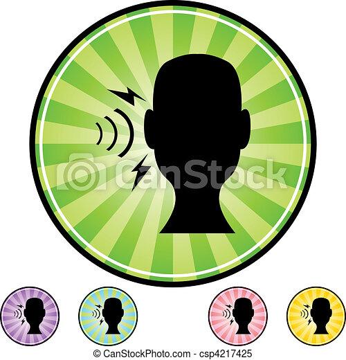 Hearing Loss - csp4217425