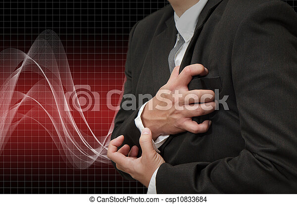 Heart Attack - csp10833684