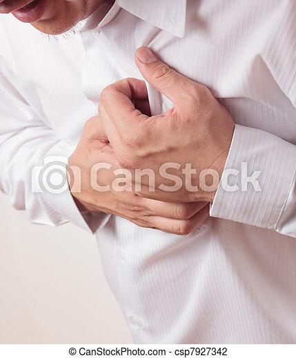 Heart Attack - csp7927342