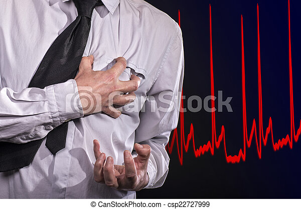Heart attack - csp22727999