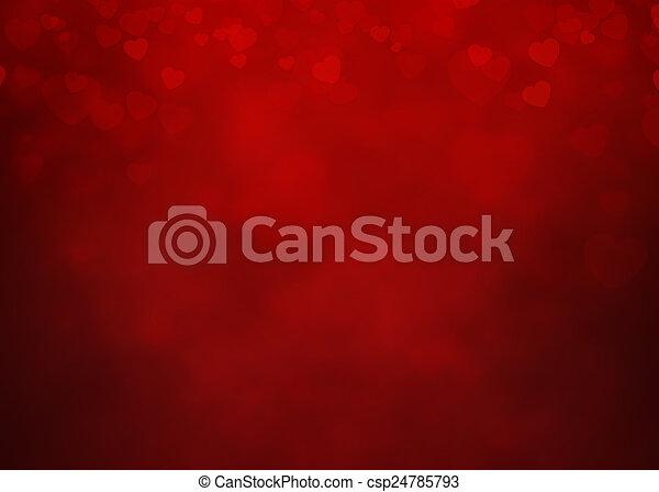 Heart Background - csp24785793