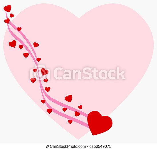 Heart background - csp0549075