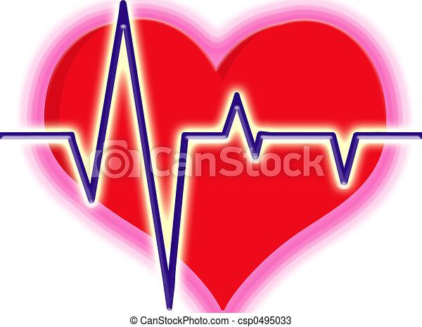 heart beat - csp0495033
