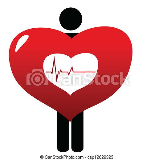 Heart beat - csp12629323