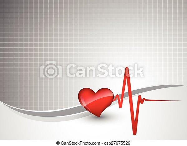 heart beat - csp27675529