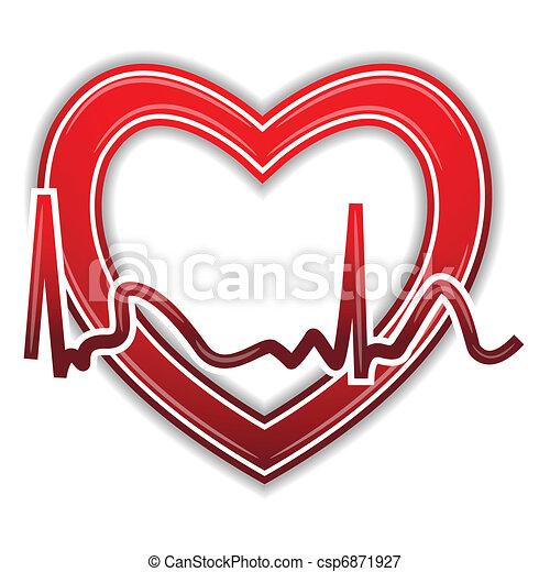 Heart Beat - csp6871927