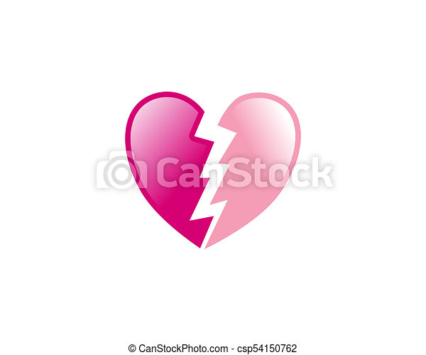 Heart Break Is A Symbol That Symbolizes The Feeling Of A Cracked Or