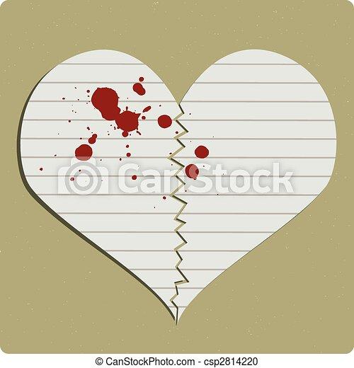 Heart Broken - csp2814220