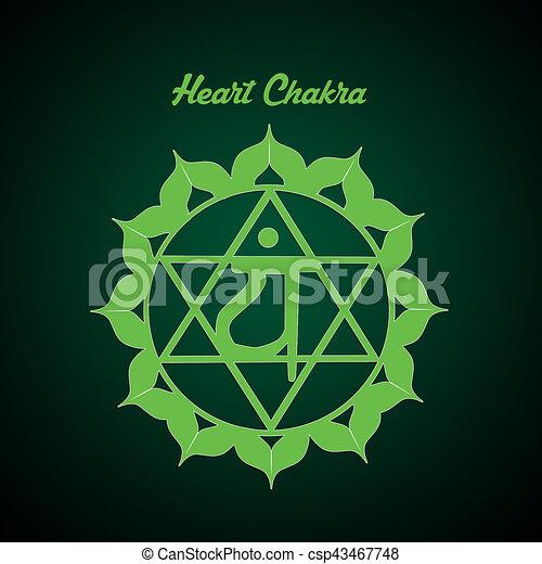 Heart Chakra - csp43467748