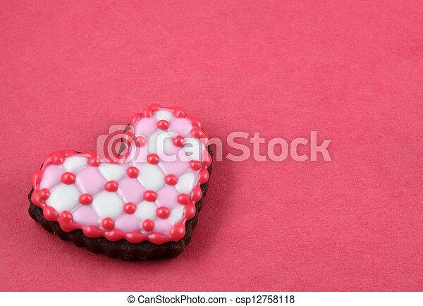 Heart Cookie - csp12758118
