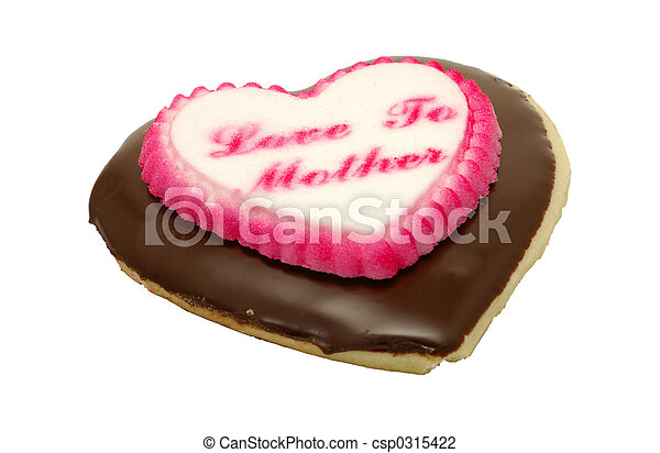 Heart Cookie - csp0315422