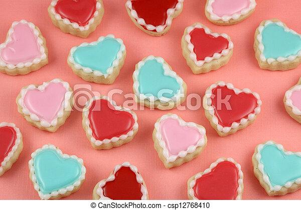 Heart Cookies - csp12768410