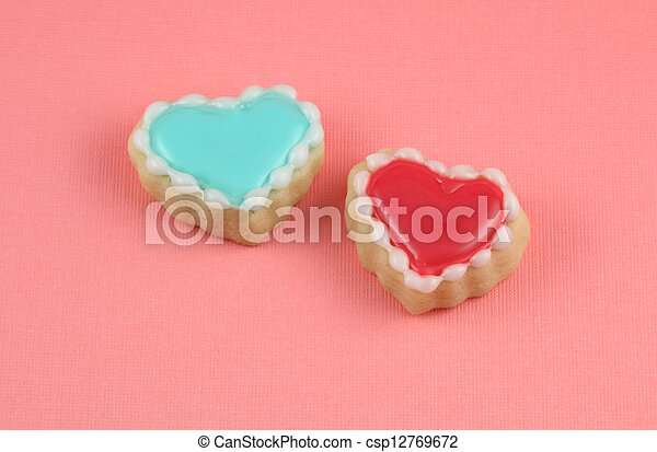 Heart Cookies - csp12769672