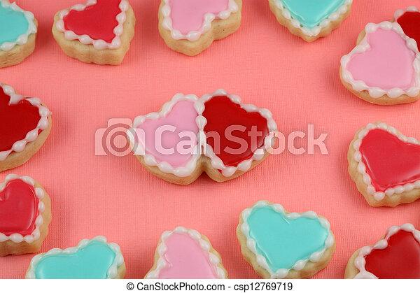 Heart Cookies - csp12769719