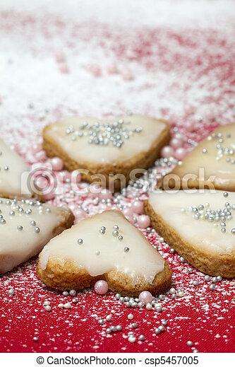 Heart cookies - csp5457005