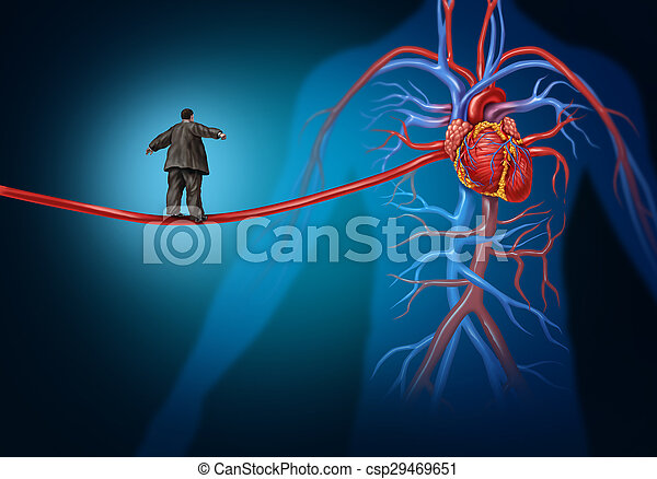 Heart Disease Danger - csp29469651
