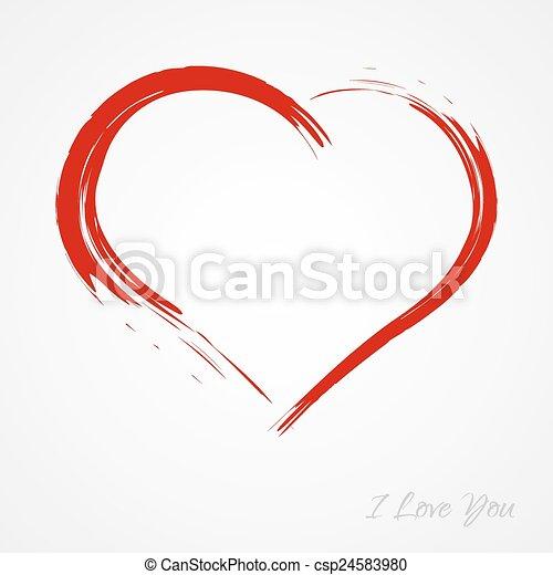 Heart - csp24583980