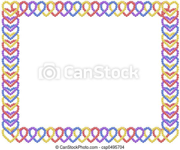 Heart Frame - csp0495704