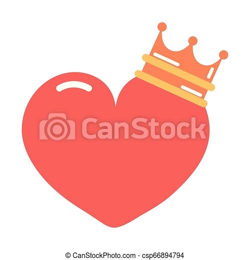 heart girl power - csp66894794
