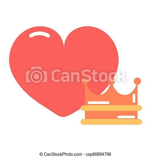 heart girl power - csp66894796