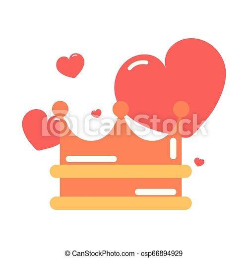 heart girl power - csp66894929