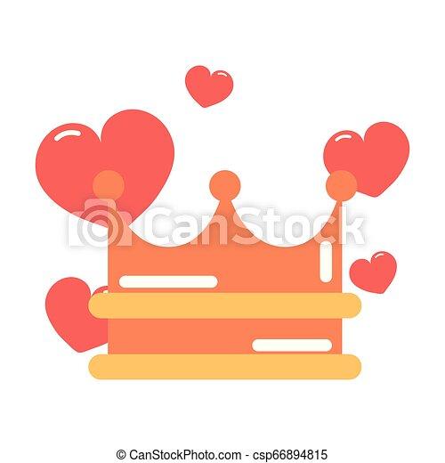 heart girl power - csp66894815