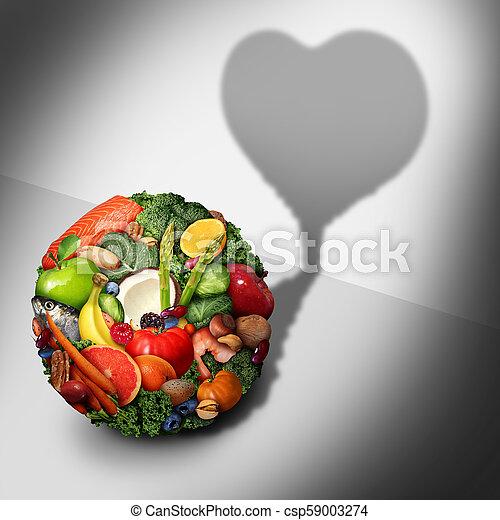 Heart Health Food - csp59003274
