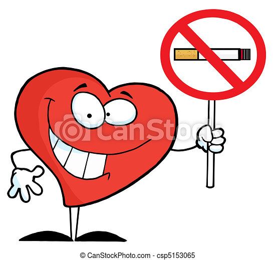heart holding up a no smoking sign red heart holding a no rh canstockphoto com no smoking clipart free download no smoking clipart black and white
